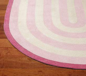 Pottery Barn Kids Custom Capel Spiral Oval Rug