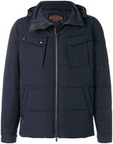 Tod's hooded padded coat