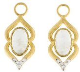 Jude Frances 18K Diamond & Moonstone Casablanca Earring Enhancers