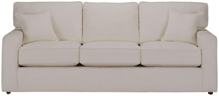 Ethan Allen Retreat track-arm sofa