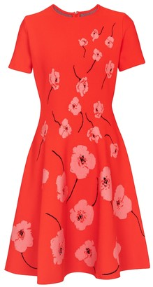 Carolina Herrera Floral minidress