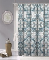 """Thumbnail for your product : Dainty Home Tiles Fabric Shower Curtain, 70"""" x 72"""" Bedding"""