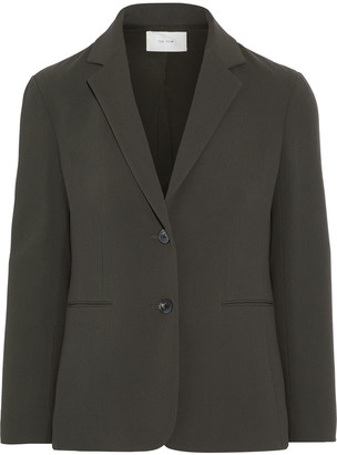 The Row Lobton Crepe Blazer