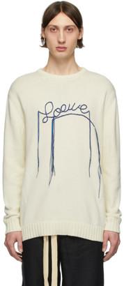 Loewe Off-White Stitch Logo Sweater