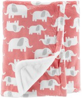 Carter's Baby Girl Elephant Plush Blanket