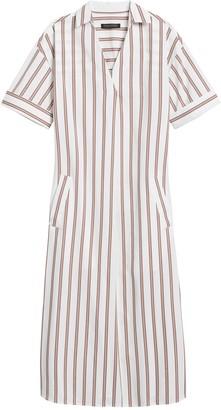 Banana Republic Poplin Shirt Dress