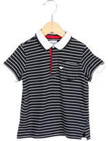 Armani Junior Boys' Stripe Polo Shirt