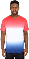 Converse Tri-Color Gradient Baseball Hem Tee