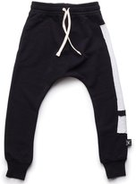 Nununu Kids Exclamation Patch Baggy Pants