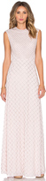 Needle & Thread Circle Mesh Maxi Dress