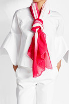 Faliero Sarti Two-Tone Cotton Scarf