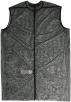 Rick Owens Lilies sleeveless tulle tunic - women - Polyamide/Spandex/Elastane - 40