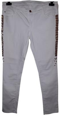 Ermanno Scervino White Denim - Jeans Trousers