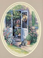 Dimensions Needlecrafts Counted Cross Stitch, Garden Door