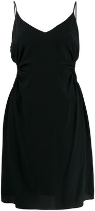 Rokh cut-out fitted dress