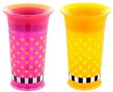 Sassy Grow Up Cup - Pink/Yellow - 9 oz - 2 ct