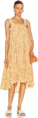 Natalie Martin Jasmine Dress in Ivy Cumin Light | FWRD
