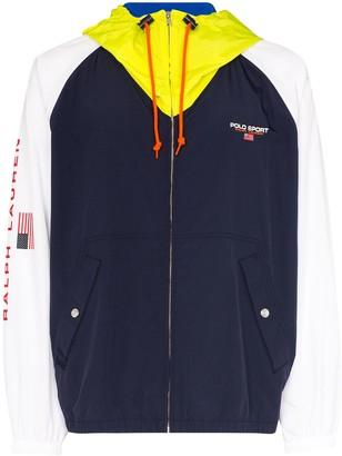 Polo Ralph Lauren Contrast Panel Hooded Jacket