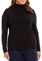 Allison Daley Plus Turtleneck Pullover Sweater