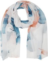 M&Co Sequin flower print scarf