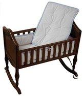 Baby Doll Bedding Minky Diamond Port-a-Crib Bedding Set - Blue