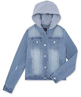 Joe's Jeans Boys' Hooded Denim Jacket, Big Kid - 100% Exclusive