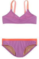 J.Crew Girls' bikini set in colorblock