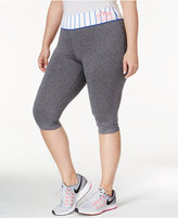 Material Girl Active Plus Size Play Ball Capri Leggings, Only at Macy's