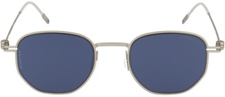 Montblanc Round Frame Sunglasses