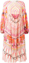 Temperley London printed flared dress - women - Silk - 8