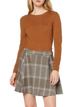 Only Women's Onllena Rosie Check Skater Skirt Cc TLR