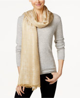 MICHAEL Michael Kors Jet Set Logo Jacquard Wrap, Only at Macy's