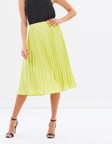 Oasis Lucia Pleated Skirt