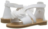 Baby Deer Crisscross Sandal with Flower Girls Shoes