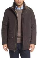 Cole Haan Faux Fur Lined Water-Resistant Parka