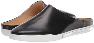 Ecco Simpil II Slide (Black Calf Leather) Women's Shoes