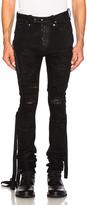 Unravel Denim Distort Parachute Jeans