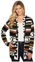 Pendleton Desert Stripe Cardigan Women's Sweater
