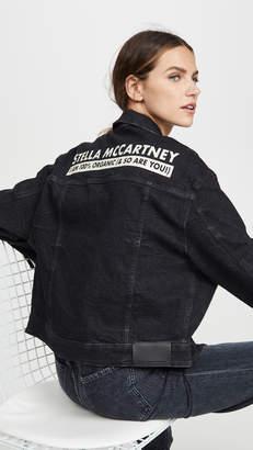 Stella McCartney Logo Jean Jacket