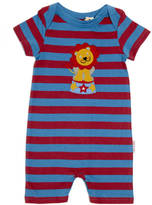 SAM. Lucy & Red And Blue Striped Lion Summer Romper