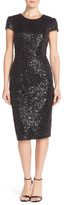 Betsey Johnson Sequin Sheath Dress