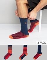 Original Penguin 3 Pack Sock Gift Set