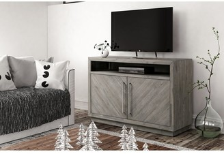 Overstock Alexandra Solid Wood 54-inch Media Console - 54 inches in width