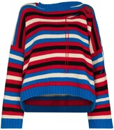 Thumbnail for your product : Charles Jeffrey Loverboy Cut-Out Knitted Jumper