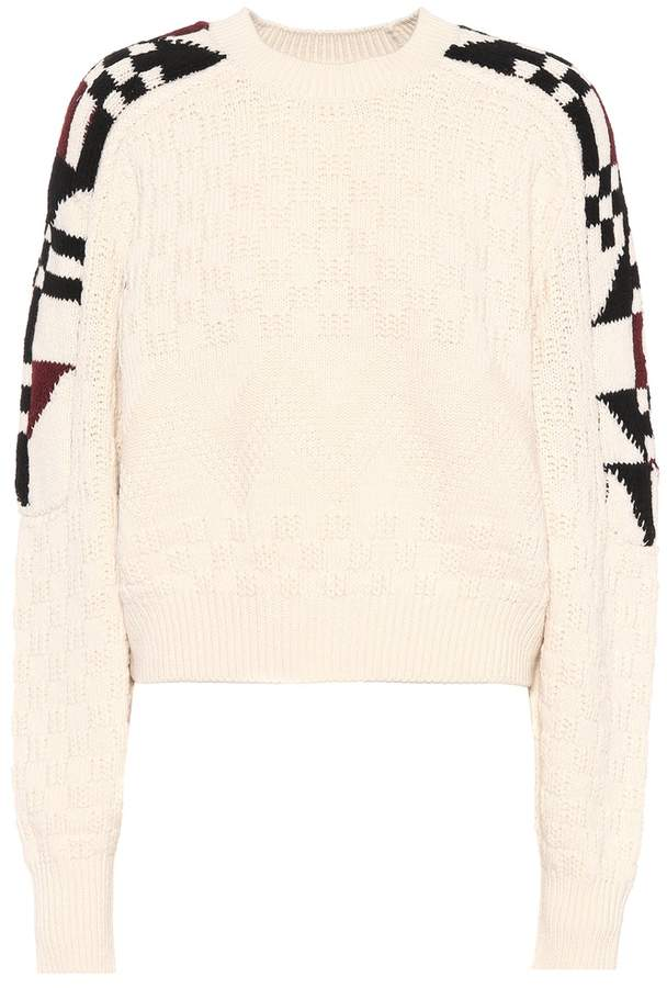 Isabel Marant Laytonn cotton and wool sweater