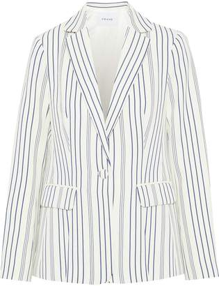 Frame Striped Jacquard Blazer