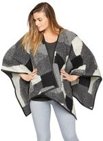 A Pea in the Pod Bcbg Max Azria Open Front Maternity Poncho