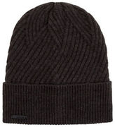 Calvin Klein Rib Fold Up Cuff Hat