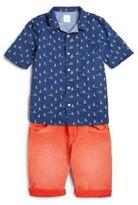 Scotch Shrunk Boy's Reversible Nautical Shirt