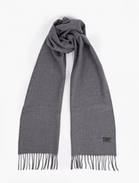 Lanvin Grey Wool Scarf